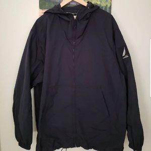 '90's Nautica Full Zip Windbreaker Jacket